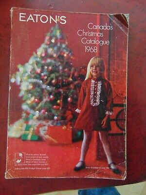 1968 Eaton's CANADA CHRISTMAS CATALOGUE  394 PAGES