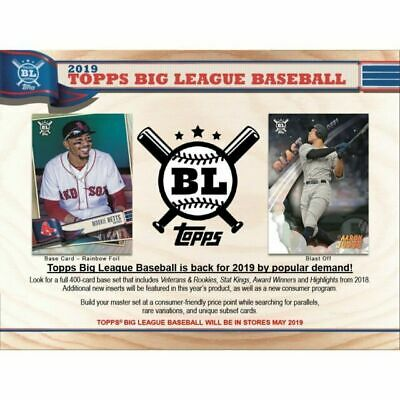 2019 Topps Big League Baseball -Star Caricatures Reproductions Complete Your Set