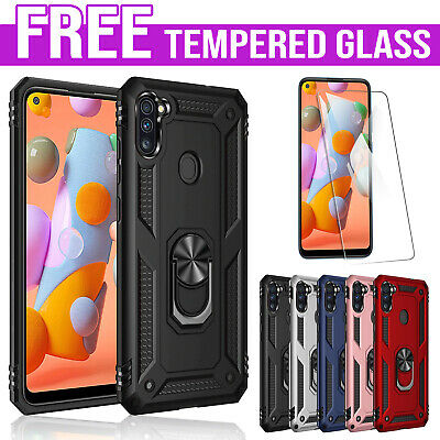 For Samsung Galaxy A20 A30 Magnetic Ring Case Shockproof Rugged Heavy Duty Cover
