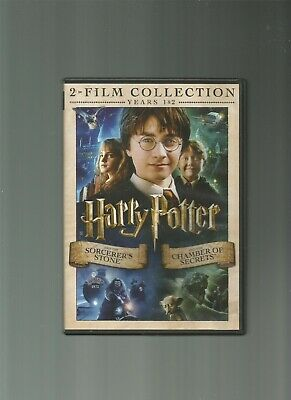 Harry Potter & the Sorcerers Stone/ Harry Potter & the Chamber of Secrets, DVD