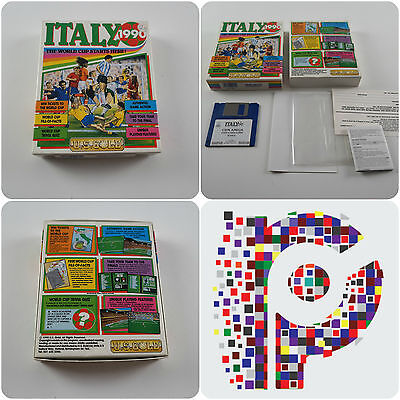 Italy 1990 A US Gold Game for the Commodore Amiga Computer tested & working
