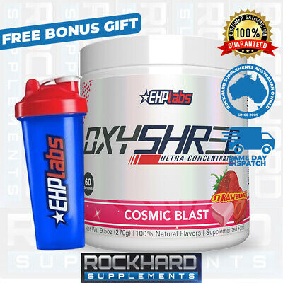 Oxyshred by EHPlabs 60 Serves Thermogenic Fat Metabolizer Weight Loss Management