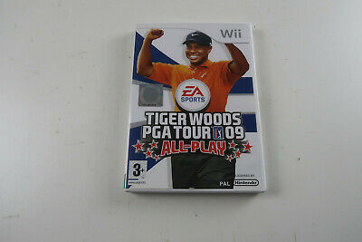 Tiger Woods PGA Tour 09 Nintendo Wii Game Complete In Very Good Condition