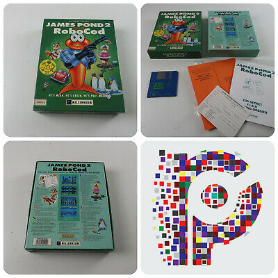 James Pond Robocod A Game for the Commodore Amiga 1200 tested & working GC