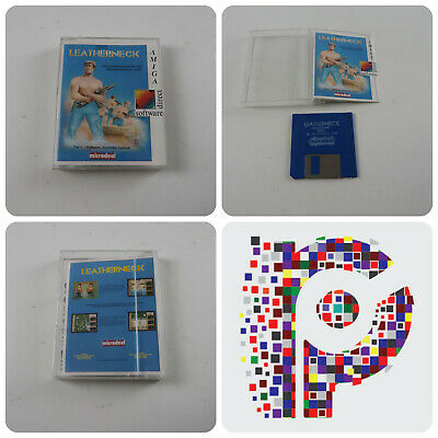 Leatherneck A Microdeal Game for the Commodore Amiga Computer tested & working