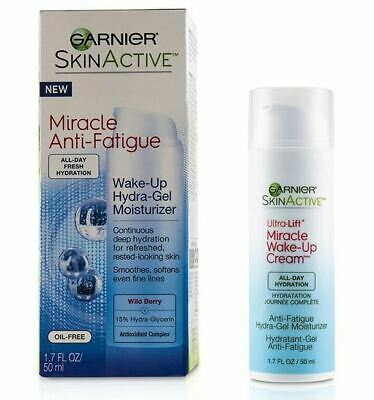 Garnier SkinActive Miracle Anti-Fatigue Wake-Up Hydra-Gel Moisturizer Cream 1.7