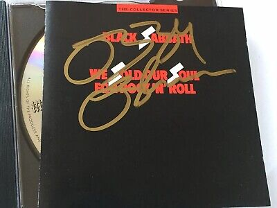 Black Sabbath - We Sold Our Soul For Rock & Roll 1986 CD Signed By Ozzy Osbourne