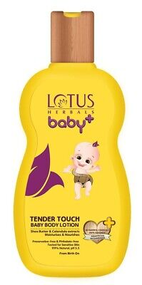 Lotus Herbals Baby+ Tender Touch Baby Body Lotion, 200ml + Free Shipping