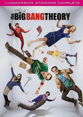 The Big Bang Theory - Stagione 11 (3 DVD) - ITALIANO ORIGINALE SIGILLATO -