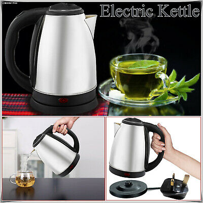 2.0Litre Premium Stainless Steel Electric Kettle Indicator Light 360° Cordless