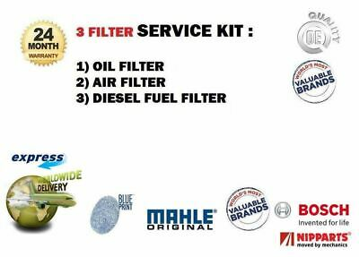 Pour Jeep Patriot 2.0 Dt 2006- > Filtre Ensemble Air Huile Carburant (3) Kit