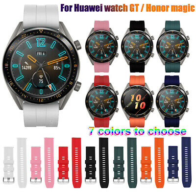 de silicona reloj 22 mm correa For Huawei Watch GT Active Elegant / Honor Magic