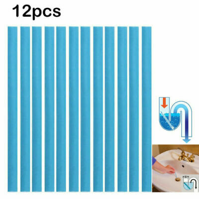 12pcs Magic Clean Sticks Drain Cleaner and Deodorizer Unscented Cleaning Tool