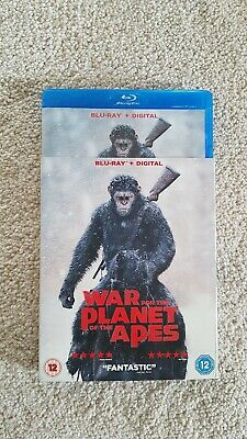 War for the Planet of the Apes Blu-ray and Digital, 2017