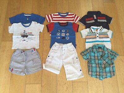 Baby Boys Summer Clothes Bundle From TU, Mini Mode, Next Size 9-12 Months