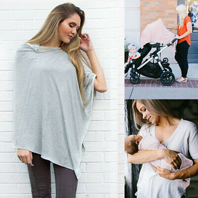 Emmababy Nursing Breastfeeding Cover Scarf Baby Car Seat Canopy Shawl CA