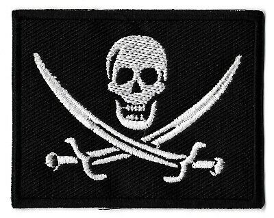 THERMOCOLLANT DRAPEAU PIRATE ROUGE BERET ECUSSON PATCHES AUFNAHER TOPPA