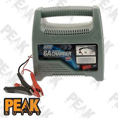6A Battery Charger up to 1600cc1800cc (12V)