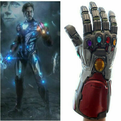 Hot Avengers Endgame Tony Stark Infinity Gloves Iron Man Gauntlet Cosplay Prop F