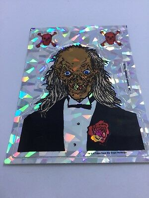 Tales From the Crypt 90s Decal Sticker Crypt Keeper Prism Sticker Date Night
