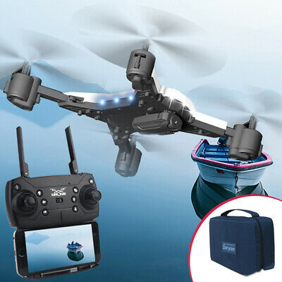 KY601S Drone RC Quadcopter HD 5.0MP Camera WIFI FPV 1080P Foldable Aircraft VU