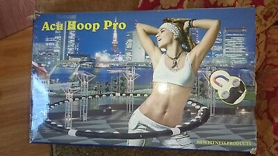 Professional Hoola Hula Hoop Weighted Magnetic Abs Massager Gym Fitness Exercise