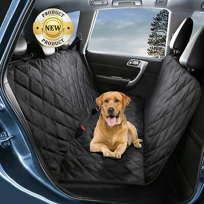 Car Rear Back Seat Cover Mat For Pet Dog Cat Waterproof Hammock Protect Washable