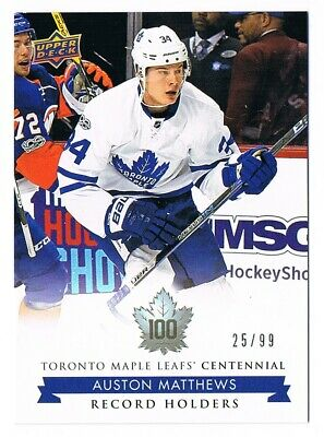 2017-18 Toronto Maple Leafs Centennial Silver Parallel #1-200 Pick From List /99