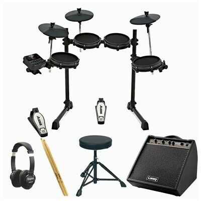 Alesis Turbo Mesh Electronic Drum Kit Monitor Bundle
