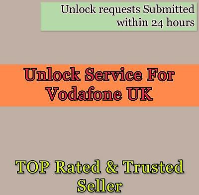 Express Vodafone UK Factory Unlock 72 hours service for iPhone SE 6s 6 plus 7