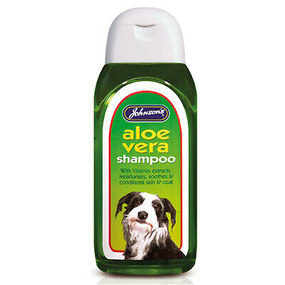 Johnson's Veterinary Aloe Vera Shampoo - 400 Ml - Jve0365