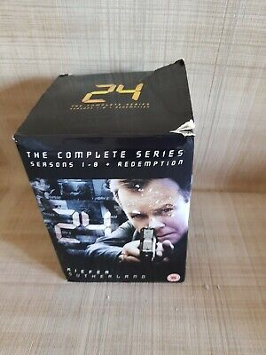 24 - The Complete Series Collection 1- 8 & Redemption - Dvd Boxset - Free Post