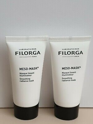 Filorga MESO-MASK Smoothing Radiance Face/Facial Masque 15ml x 2 travel size.New
