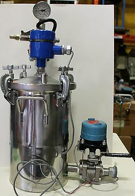 Graco 236157 stainless steel paint pressure pot B06A w/ sensors spray paint