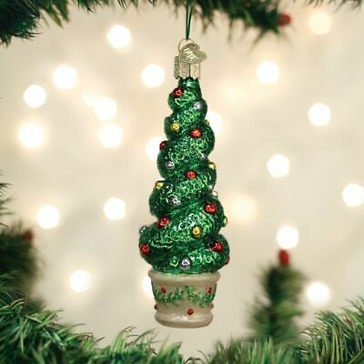 Old World Christmas Holiday Topiary Ornament