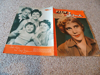 Film Revue Nr. 1, 1955, Maria Schell on Cover Sonja Ziemann Backcover