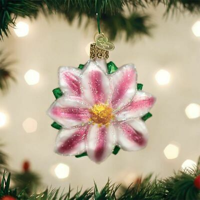 Old World Christmas Clematis Ornament