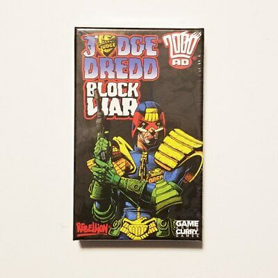 Judge Dredd Block War Card Game by Game And A Curry GAAC2000