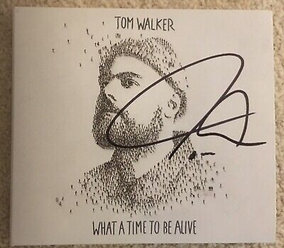 Tom Walker - What A Time To Be Alive (Digipack CD) SIGNED