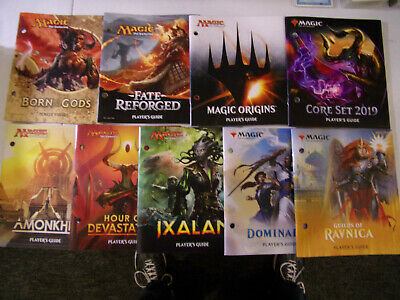 Mtg Magic the Gathering PLAYER'S GUIDE (You choose the set)