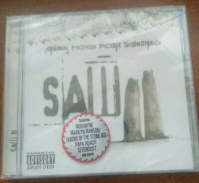 Saw 2 [PA] by Original Soundtrack (CD, Oct-2005, Image Entertainment)