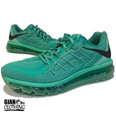 buy popular 91cee 411c2 Nike Air Max 2015 WMNS Flyknit Running Shoes 698903-303 Mint Green Womens  Size 9