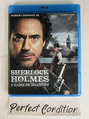 Sherlock Holmes: A Game of Shadows   Blu-ray  - Perfect Condition -
