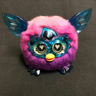 Hasbro Furby Crystal Series ✨ Pink to Purple FURBLING ✨Interacts With Your Furby