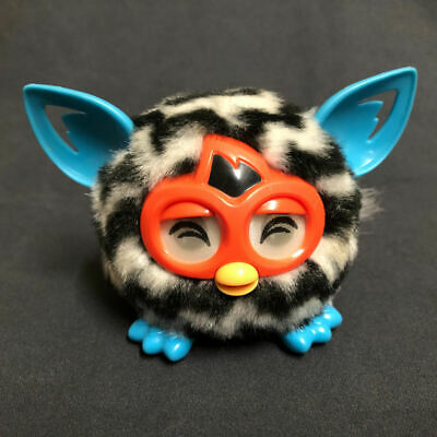Hasbro Furby ZigZag Series ✨ Black & White FURBLING ✨Interacts With Your Furby