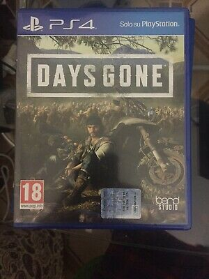 Days Gone Ps4 Sony Playstation 4  Come Nuovo Italiano