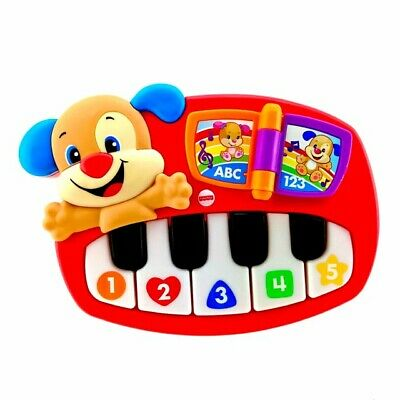 FISHER PRICE TOY Puppys Piano Laugh Learn Musical Instrument