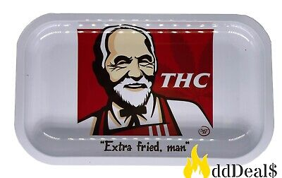Tobacco Rolling Tray (Extra Fried, Man) 10.5x6.5