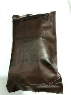 ~Nos! Us Military Vintage Brown Bag Mre Chicken Ala King #6 So-Pak-Co Acces Pk A