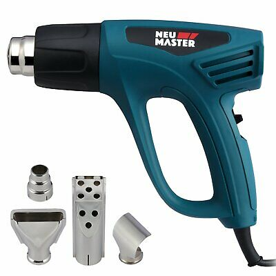 NEU MASTER N2190 1500W Heat Gun Kit with Variable Temperature Control with Overl